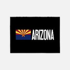 Arizona: Arizonan Flag & Arizona 5'x7'Area Rug