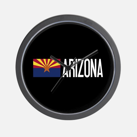 Arizona: Arizonan Flag & Arizona Wall Clock