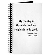 Thomas Paine 8 Journal