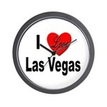 I Love Las Vegas Wall Clock