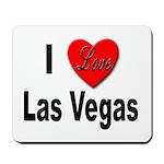 I Love Las Vegas Mousepad