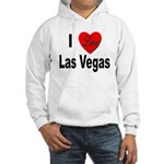 I Love Las Vegas (Front) Hooded Sweatshirt