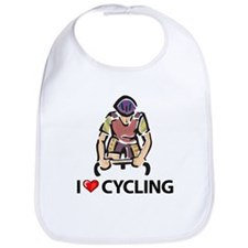 I Love Cycling Bib