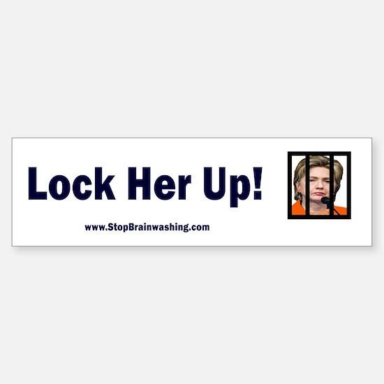 Lock Her Up Sticker (Bumper)