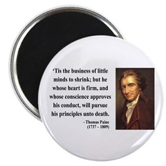 "Thomas Paine 9 2.25"" Magnet (10 pack)"