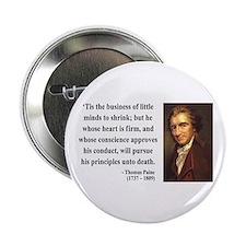 """Thomas Paine 9 2.25"""" Button"""