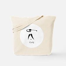 Team Golf Title Tote Bag