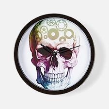 Horror Skull Modern Wall Clock