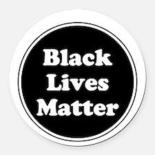 Black Lives Matter Round Car Magnet
