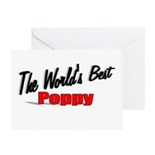 """""""The World's Best Poppy"""" Greeting Card"""