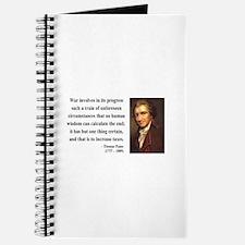 Thomas Paine 10 Journal