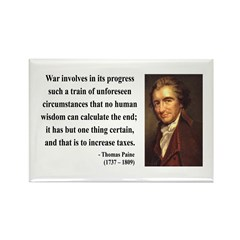 Thomas Paine 10 Rectangle Magnet (10 pack)