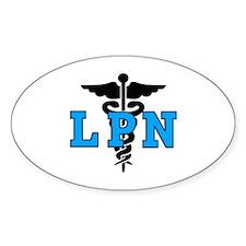 LPN Medical Symbol Decal