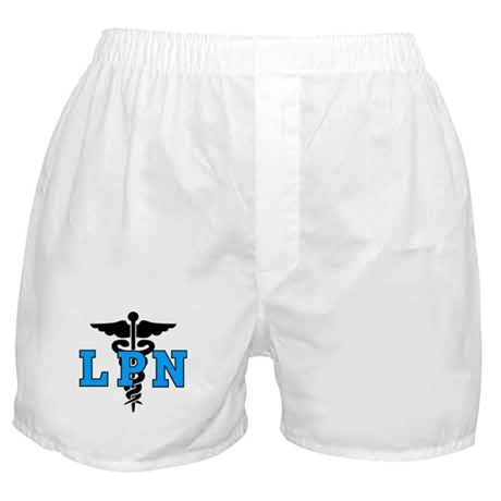 LPN Medical Symbol Boxer Shorts