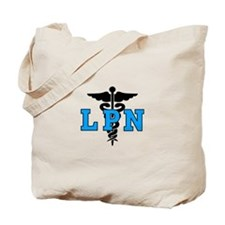 LPN Medical Symbol Tote Bag