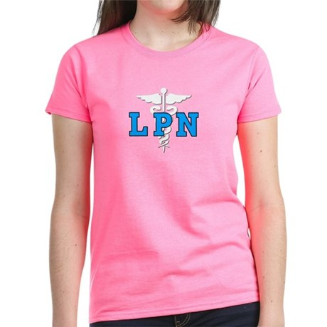 LPN Medical Symbol Women's Dark T-Shirt