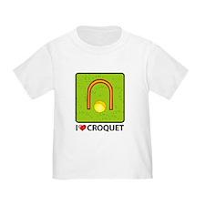 I Love Croquet T