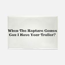 Rapture Humor Rectangle Magnet