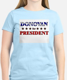 DONOVAN for president T-Shirt