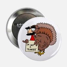 """Cute Thanksgiving day 2.25"""" Button (10 pack)"""