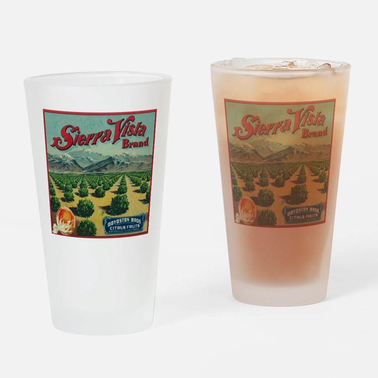 Porterville, CA - Sierra Vista Brand Citrus Drinki