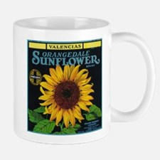 Redlands, California - Sunflower Brand Citrus Mugs