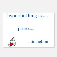 Hypnobirth Advocacy Postcards (Package of 8)