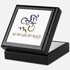 NO ROADS NO RULES Keepsake Box