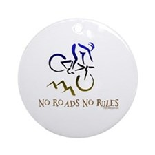 NO ROADS NO RULES Ornament (Round)