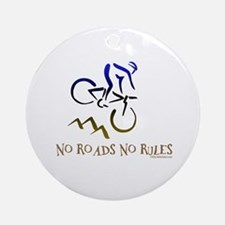 NO ROADS NO RULES Ornament (Round)