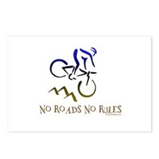 NO ROADS NO RULES Postcards (Package of 8)