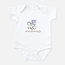 NO ROADS NO RULES Infant Bodysuit