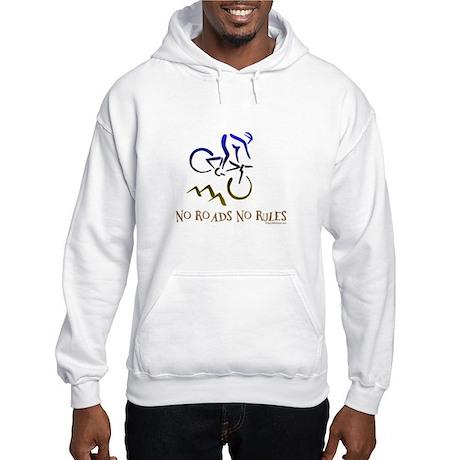 NO ROADS NO RULES Hooded Sweatshirt