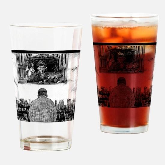 Cute Tony montana Drinking Glass