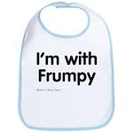 I'm With Frumpy Bib