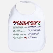Black & Tan Coonhound Property Laws 2 Bib
