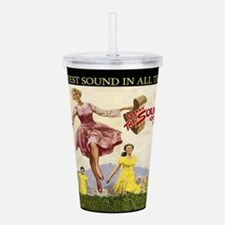 Sound Of Music Acrylic Double-wall Tumbler