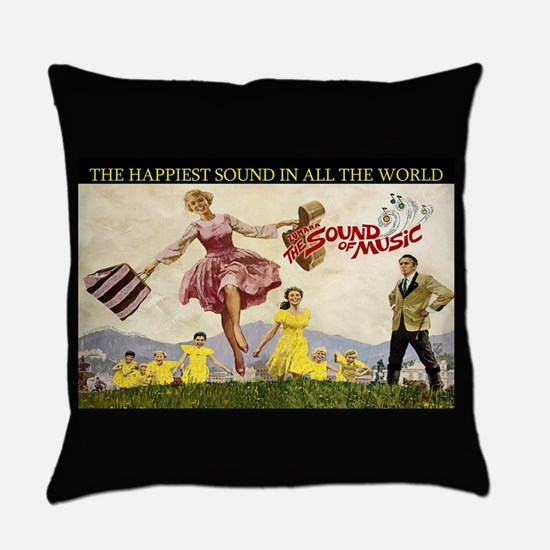Sound Of Music Everyday Pillow
