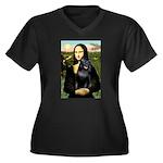 Mona's Schipperke (#5) Women's Plus Size V-Neck Da