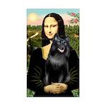 Mona's Schipperke (#5) Sticker (Rectangle)