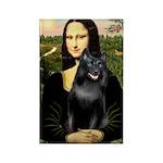 Mona's Schipperke (#5) Rectangle Magnet (10 pack)