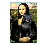Mona's Schipperke (#5) Postcards (Package of 8)