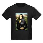 Mona's Schipperke (#5) Kids Dark T-Shirt