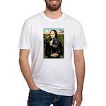 Mona's Schipperke (#5) Fitted T-Shirt