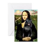 Mona's Schipperke (#5) Greeting Cards (Pk of 20)