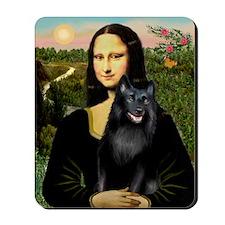 Mona's Schipperke (#5) Mousepad