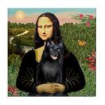 Mona's Schipperke (#5) Tile Coaster
