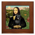 Mona's Schipperke (#5) Framed Tile