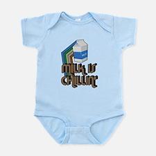 Milk is Chillin' Infant Bodysuit
