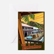 Lahaina, Hawaii Greeting Cards